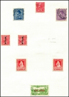 Lot 482 [2 of 4]:1880s-1950s Collection mostly used with Second Sidefaces to 1/-, 1898-1907 Pictorials to 5/- plus 2/- optd 'OFFICIAL', 1906 Christchurch Exhib ½d & 6d (thin) used and 1d & 3d mint, KEVII to 1/- plus officials, KGV to 1/- plus officials, 1920 Victory & 1925 Dunedin sets mint, KGV 2/- & 3/- Admirals both cds used, Airs mint or used, Healths mint or used including Smiling Boys mint (mild gumside toning), Arms postally used including 15/-; also 6d Express Delivery P14x14½ & range of Life Insurance issues; condition variable, many are fine. (230+)