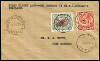 Lot 1145:1933 Daru-Port Moresby flown by pilot W.J. Duncan for Rabaul Airways Syndicate AAMC #P65, fine, Cat $350.