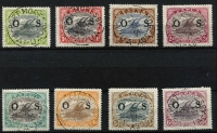 Lot 1246 [3 of 3]:1931-32 Officials: ½d to 2/6d set optd 'OS' SG #O55-66, fine used, Cat £325. (12)