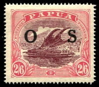Lot 1420 [1 of 3]:1931-32 Overprinted 'OS': ½d to 2/6d set SG #O55-66, 3d & 4d ink transfer or disturbance on gum, 2/6d mild gum toning, otherwise fine mint, Cat £130. (12)