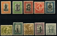 Lot 1414 [3 of 3]:1932-40 Pictorials ½d to £1 set SG #130-45, fine MLH/MVLH, Cat £550. (16)
