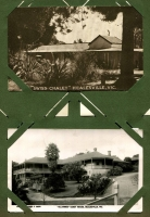 Lot 137 [2 of 3]:Victoria Selection: mostly Healesville scenes including RP types of Myer's Creek Falls (Rose series) and a Coronderrek Weir/Donnelly's Creek Weir twin image card; also modern copy of a photograph showing view of Seville. (8)