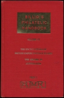 Lot 158:Australasia: 'Billig's Philatelic Handbook, Volume 41, The Empire in Australasia', (1961), hardbound. fine condition.