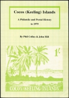 Lot 122:Cocos (Keeling) Islands: Cocos (Keeling) Islands - a Philatelic and Postal History by Phil Collas & John Hill (1991), 66pp softbound.