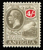 Lot 1447 [1 of 3]:1921-29 KGV Script CA ½d to 4/- set SG #62-80, with all SG listed shades plus several unlisted, generally fine mint. Cat £220+. (27)
