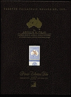 Lot 206:Australia: 'The Arthur Gray Large Gold Medal Collection' Shreves auction catalogue (22-23/2/2007), hardbound, 849 lots, with prices realised. An indispensable reference for both dealers and collectors.