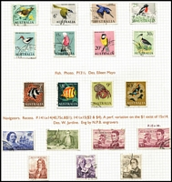 Lot 305 [1 of 4]:1966-89 Decimal Collection well presented used collection in ringbinder, mostly full sets & part sets, few mint issues here & there, generally fine. (100s)