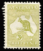 Lot 74 [1 of 3]:3d Olive Die I x20 used including pair and one mint, various shades, used stamps with tidy datestamp cancels, Cat $850. (21)