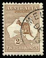 Lot 507 [1 of 2]:CTO Selection comprising 2d, 2½d & 3d marginal examples, 5d & 2/-, 'DE3/13' CTO cancels, all with full unmounted gum, Cat $580+. (5)