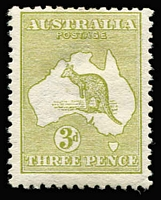 Lot 510 [1 of 2]:Watermark Inverted Group comprising ½d, 1d & 2d x2 (one with few nibbed perfs) used, plus 3d Die I mint, Cat $925. (5)
