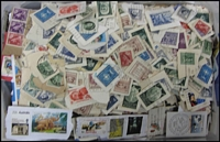 Lot 255:1.6kg On-Paper Mix mostly from recent philatelic mail. Contains lots of high values & M/Ss plus some older material. High quality mix.