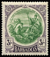 Lot 1391 [1 of 3]:1916-20 Seal ¼d to 3/- set including Gibbons listed shades for ¼d, ½d, 1d & 3d, plus 1918-20 4d & 3/- Change of Colours SG #181-91 & 199-200, fine MLH/MVLH, Cat £220+. (20)