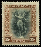 Lot 1392 [1 of 3]:1920-21 Victory ¼d to 3/- set including Wmk Script CA 1d SG #201-12, fine mint, Cat £150. (12)