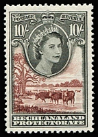 Lot 1221 [1 of 3]:1948-61 Selection comprising 1948 Silver Wedding, 1953-58 QEII ½d to 10/- and 1961 Postage Due sets, SG #136-37, 143-53 & D10-12, fresh MUH, Cat £140+. (17)