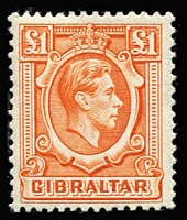 Lot 1922 [1 of 4]:1938-51 KGVI ½d to £1 set SG #121-131 largely complete for all perfs & shades, excludes 2d grey P13½ Wmk sideways but includes 1½d carmine P13½, odd minor blemish, generally fine mint, Cat £1,350+. (35)