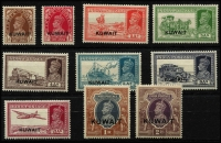 Lot 1582 [2 of 3]:1939-45 KGVI Selection comprising 1939 ½a to 5r SG #36-49 & 1945 3p to 14a set SG #52-63, fine mint, Cat £295. (24)