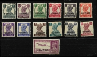 Lot 1582 [3 of 3]:1939-45 KGVI Selection comprising 1939 ½a to 5r SG #36-49 & 1945 3p to 14a set SG #52-63, fine mint, Cat £295. (24)