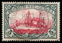 Lot 1303 [1 of 2]:1900-08 Yachts No Watermark 3pf to 5m set Mi #7-19, fine/very fine used, 1m tied to small piece, Cat €600. (13)