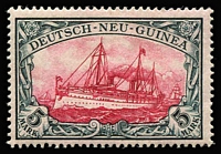 Lot 1302 [1 of 2]:1900-08 Yachts No Watermark 3pf to 5m set Mi #7-19, fine mint (40pf small hinge thin), Cat €260. (13)