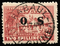 Lot 1340 [1 of 2]:1925-27 Huts Optd 'OS': 1d to 1/- set SG #O22-30, fine used, Cat £190. (9)