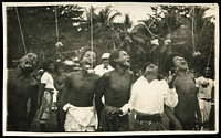 Lot 977 [3 of 3]:New Guinea & Papua: unused selection, three in colour, one black and white real-photo card signed in 1910 by Anthony Musgrave, Government Secretary of British New Guinea, condition variable. (8)