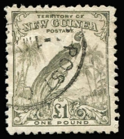 Lot 1056 [1 of 2]:1932 Undated Birds 1d to £1 set SG #177-189, fine used, Cat £300. (15)