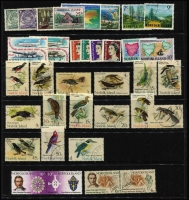 Lot 423 [2 of 2]:1959-71 Selection used with 1959 2/- blue Ball Bay, 1953 3½d & 8½d to 5/- Bridge, 1960 Surcharge trio, 1960-62 to 5/- (ex 2d), 1964 Views, 1966 Decimal Surchages to $1 x2 (both tablet sizes), 1967 Ships, 1970-71 Birds, etc, mostly fine/very fine. (95)