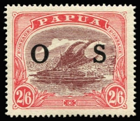 Lot 1358 [1 of 2]:1931-32 Pictorials Optd 'OS': ½d to 2/6d set SG #O55-66, fine mint, Cat £130. (12)