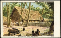Lot 759 [2 of 5]:New Guinea & Papua: unused selection, three in colour, one black and white real-photo card signed in 1910 by Anthony Musgrave, Government Secretary of British New Guinea, condition variable. (8)