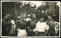 Lot 759 [3 of 5]:New Guinea & Papua: unused selection, three in colour, one black and white real-photo card signed in 1910 by Anthony Musgrave, Government Secretary of British New Guinea, condition variable. (8)
