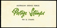 Lot 321:1967-68 50c Defence Forces comprising (5c Bird) B128Aa x2 and B128Ca (pink u/v reaction) x2, Cat $380. (4)