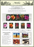 Lot 229 [2 of 5]:1997-2004 Used collection on Seven Seas pages, also framas, 60c letter-rate duplicates, plus a shoebox of oddments including stamp packs, FDCs, used M/Ss, & few earlier, etc.