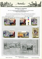 Lot 229 [1 of 5]:1997-2004 Used collection on Seven Seas pages, also framas, 60c letter-rate duplicates, plus a shoebox of oddments including stamp packs, FDCs, used M/Ss, & few earlier, etc.