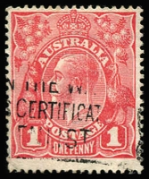 Lot 213 [1 of 2]:1d Red 'Tin Shed' Flaws of varying degrees x20, stamps in generally good to fine condition. (20)