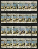 Lot 327 [2 of 5]:1966-92 Decimals heavily duplicated on Hagners in 21 ringbinders with high values commemoratives and definitives, framas, se-tenant strips, some M/Ss. Huge quantity to work through. Hagners alone worth a good portion of the estimate. Very heavy lot, buyer to collect. (1,000s)