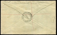 Lot 759 [2 of 2]:1932 Bridge 2d & 3d BW #147 & #149 tied to registered local cover by Registered Perth '14MR32' FDI datestamps.