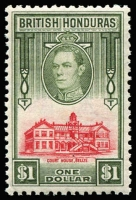 Lot 1447 [3 of 12]:1938-47 Pictorials 1c to $5 set SG #150-61, some hinge remnants, generally fine mint, Cat £190. (12)