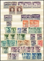 Lot 3 [2 of 3]:Austria 1880s-1970s Thick stockbook with wide range of issues, heavily duplicated in places, predominantly used with useful mint content; also a little Netherlands & AAT. Heaps to work through. (many 100s)
