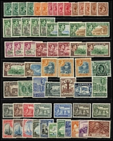 Lot 10:British Commonwealth QV-QEII mint assortment with 