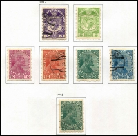 Lot 53 [1 of 4]:Liechtenstein 1917-2003 Collection mint or used in Davo album with slipcase, quite fragmentary with 1917-20s selection and some 1960s-70s set mint, few 1960s-80s M/Ss, etc. (Few 100s).