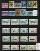 Lot 83 [3 of 3]:Tristan Da Cunha 1954-67 Array with 1954 QEII ½d to 10/- set on cover to South Africa, 1960 & 1961 short sets to 1/- or 10c MUH, 1965-67 Ships to 2/6d MUH. etc. (52 + 1 cover)