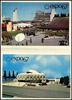 Lot 89 [1 of 3]:World 1960s-80s PPCs including 'EXPO 67' (Montreal, Canada) unused cards, Australia 1970s-80s tourist types, also postal history, FDCs including 1960s Ceylon; approximately 80% Australian content. (qty)