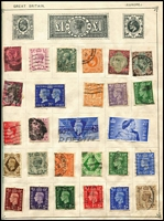 Lot 91 [1 of 3]:World Array in old-time albums, including coverless 'Strand' album with lots of stamps incl Australia & States, condition is mixed. (100s)