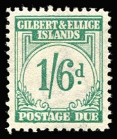 Lot 1509 [1 of 2]:1940 Postage Dues 1d to 1/6d set SG #D1-8, MVLH, Cat £180. (8)