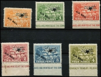 Lot 1259 [3 of 3]:1931 Huts Airmail ½d to £1 set SG #137-49, fine mint, Cat £250. (13)