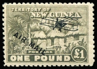 Lot 1259 [1 of 3]:1931 Huts Airmail ½d to £1 set SG #137-49, fine mint, Cat £250. (13)