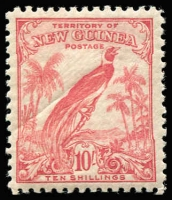 Lot 1261 [1 of 2]:1932-34 Undated Birds Selection with 10/- pink SG #188 x4, £1 Air #203 & 2/- optd 'OS' #O53, all fresh MUH, Cat £335+. (6)