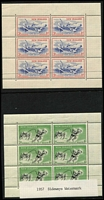 Lot 484 [2 of 4]:1930s-90s Health Issues Collection including 1957-93 M/Ss complete MUH, also a few 1940-50s stamps MUH.