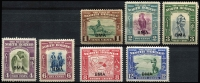 Lot 1636 [3 of 3]:1945 Optd BMA 1c to $5 set SG #320-324, few low values & 20c with gumside toning, generally fine MLH, Cat £250. (15)