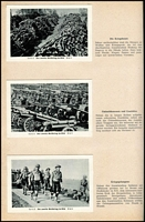 Lot 106:Collector Cards: Der Zweite Weltkrieg Im Bild (The Second World War in Pictures) published in 1950s by Eilebrecht in two volumes, text in German, containing 340 black & white cards.